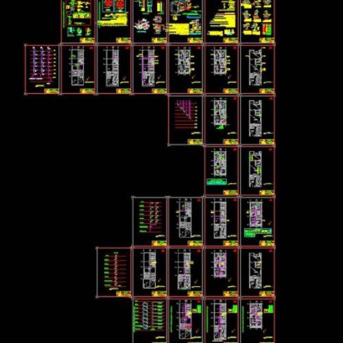 نقشه ازبیلت تاسیسات مکانیکی